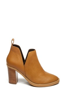 Steven New York Tan Joide Ankle Boots