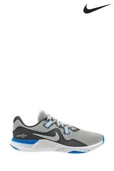 Nike Train Grey/Blue Renew Retaliation TR 2 Trainers