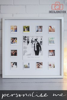 Personalised Photo Upload Anniversary 3D Framed Print by Instajunction