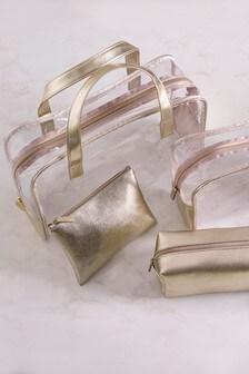 4b23021a1ac2 Zlatá Súprava 4 kozmetických tašiek