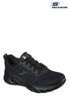 Skechers Black Glide-Step Sport Shoes