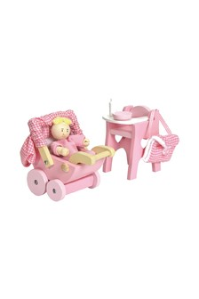 Le Toy Van Wooden Nursery Set
