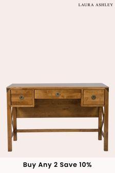 Balmoral Honey 3 Drawer Desk by Laura Ashley