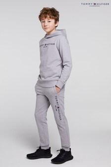 Tommy Hilfiger Grey Essential Hooded Set