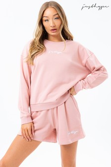 Hype. Co-ord Jersey Shorts And Crew Top Set