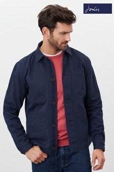 Joules Blue Millstone Cotton Workwear Jacket