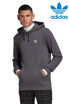 adidas Originals Dark Grey Essential Pullover Hoody