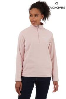 Craghoppers Pink Miska Half Zip Fleece