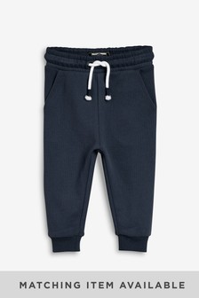 Navy Joggers Soft Touch Jersey (3mths-7yrs)