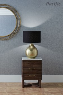 Souk Hammered Metal Table Lamp by Pacific Lifestyle