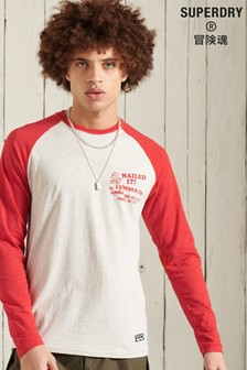 Superdry Sushi Rollers Baseball Top