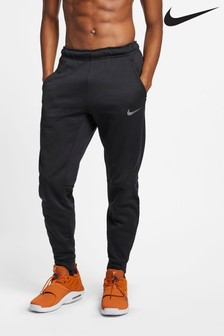 Nike Black Therma Tapered Training Joggers
