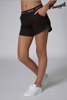 Pineapple Black Band Short
