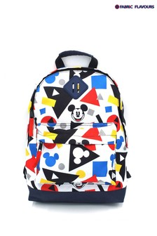 Fabric Flavours White Mickey Mouse Backpack