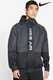 Nike Air Black Woven 1/2 Zip Jacket