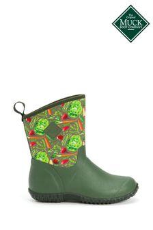 Muck Boots Green Muckster II Slip-On Short Boots