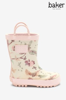 Baker by Ted Baker Pink Floral Wellies