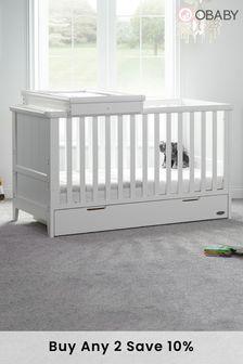 Obaby Belton  2 Piece White Furniture