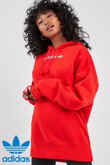 Red  adidas Originals Coeeze Hoody