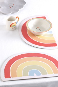 Set of 2 Rainbow Placemats
