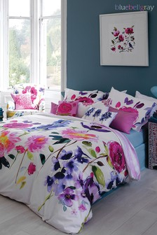 Bluebellgray Taransay Floral Cotton Duvet Cover and Pillowcase Set