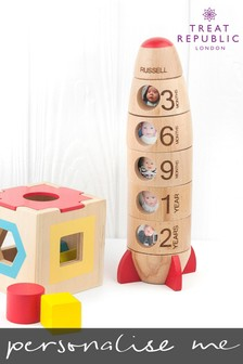 Personalised Memory Photo Rocket by Treat Republic