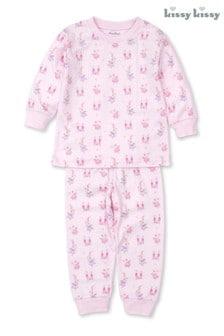 Kissy Kissy Pink Pima Cotton Fairytale Pyjamas