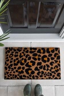 Leopard Print Doormat