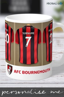 Personalised AFC Bournemouth Mug by Personalised Football Gifts