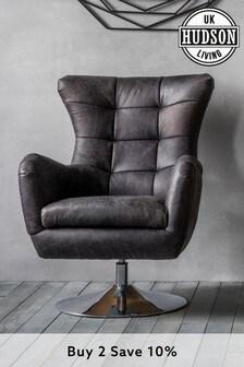 Bristol Swivel Chair By Hudson Living