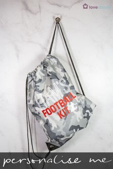 Personalised Football Kit Bag by Loveabode