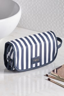 Nautical Folding Wash Bag