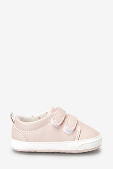 Pink Pram Trainers (0-18mths)