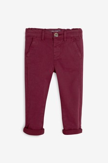 Plum Stretch Chinos (3mths-7yrs)