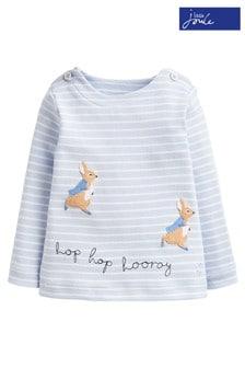 Joules Blue Hoppy Appliqué T-Shirt