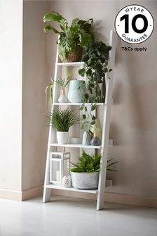 Grey Flynn Ladder Shelf