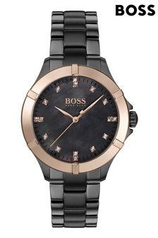 BOSS Mini Sport Grey IP Bracelet Watch