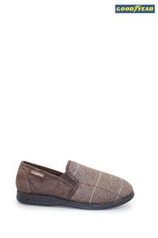 Goodyear Harrison Brown Mens Slippers
