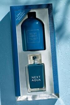 Next Aqua 100ml Gift Set