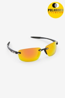 Black Signature Sports Style Polarised Sunglasses