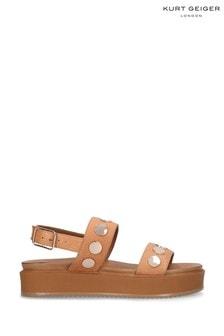 Kurt Geiger London Natural Makenna Sandals