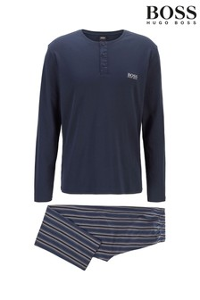 BOSS Premium Long Set Pyjamas