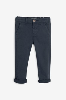 Navy Stretch Chinos (3mths-7yrs)