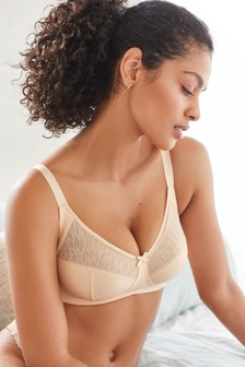 Nude Total Support Non Wire Full Cup Bra
