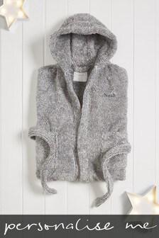Personalised Grey Robe