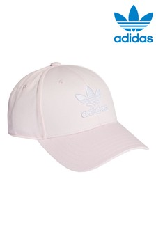 adidas Originals Kids Pink Baseball Cap