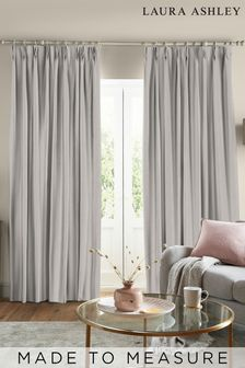 Laura Ashley Swanson Oyster Made to Measure Curtains