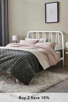 White Dixie Bed