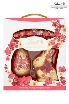 Lindt Easter Gold Bunny Flower Print Pack 370g