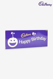 Happy Birthday Cadbury Dairy Milk 850g Chocolate Bar